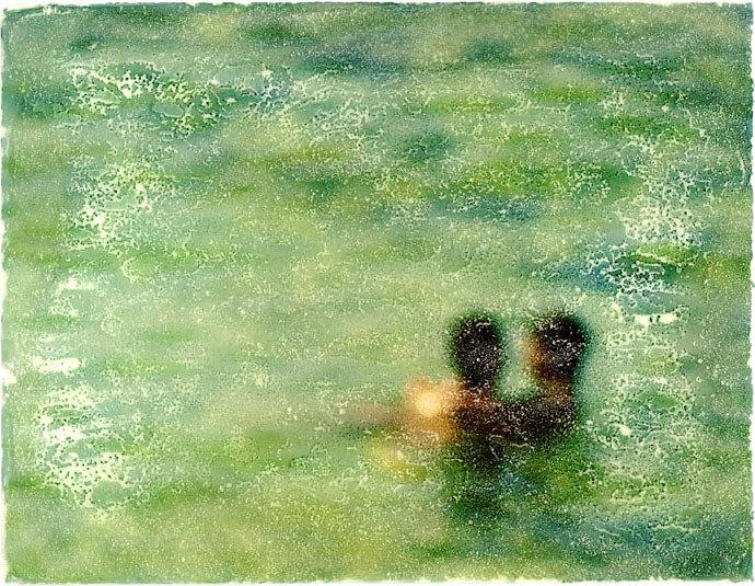 Wessen Idee war das eigentlich mit dem grünen Wasser?